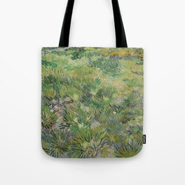 Long Grass with Butterflies Tote Bag