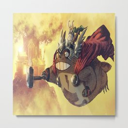 thortoro Metal Print