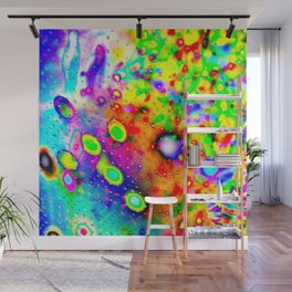 Lighting Experiment 47 - Psychedelic Bubbles Wall Mural