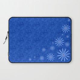 Fleurs Bleues Laptop Sleeve