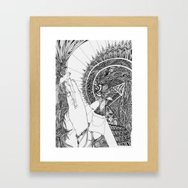 Geochrist Framed Art Print