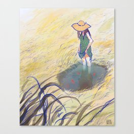 Once upon a Pond Canvas Print