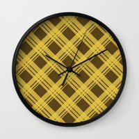 dragon age inquisition Wall Clocks featuring Plaideweave (Dragon Age Inquisition) by meglish
