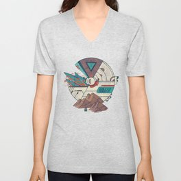 Visions of a new Homeworld Unisex V-Neck