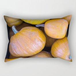 Pile of pumpkins Rectangular Pillow