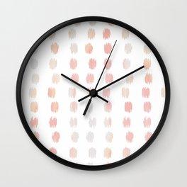 SKETCHY DOTS  Wall Clock
