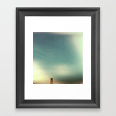 vaux swifts Framed Art Print