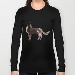 Shepherd Watercolor Wash Long Sleeve T-shirt
