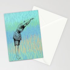 Swimmer ~ The Summer Series Stationery Cards
