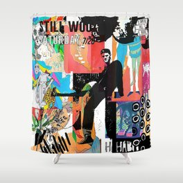 Still Woozy Shower Curtain