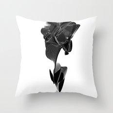 off'course Throw Pillow