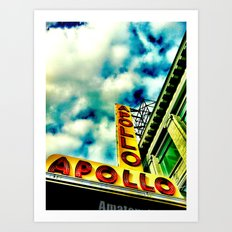New York by iPhone 4 Art Print