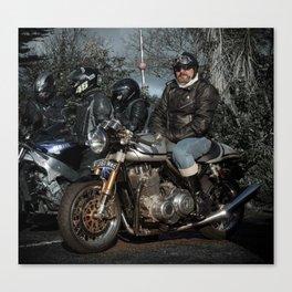 Norton Motorcycle Canvas Print