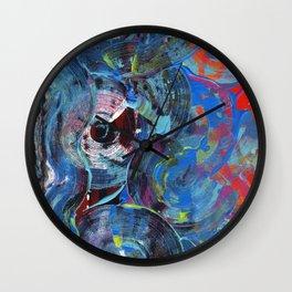 Abstract Feelings of Hope and Despair Wall Clock