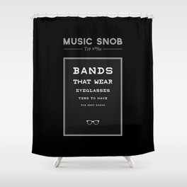 LEGALLY Fourth Eye Blind — Music Snob Tip #20/20-ish Shower Curtain