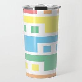 Colorful lines #society6 #decor #buyart #artprint Travel Mug