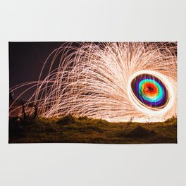 Ring of fire Rug