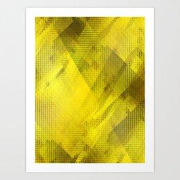 Amber Light Art Print