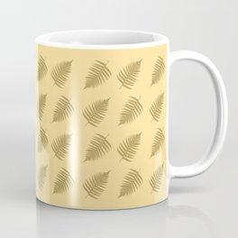 Fern pattern in cappuccino  Coffee Mug