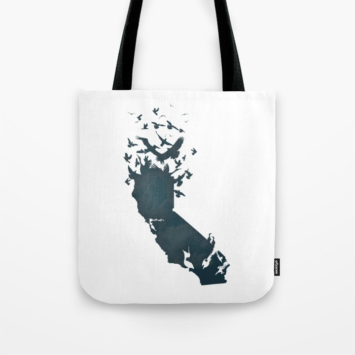 California is...The Sky Tote Bag