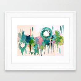 Monday in the Garden Framed Art Print