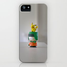 Kenny The Trainer  iPhone Case
