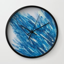 The Frozen Obelisk Wall Clock
