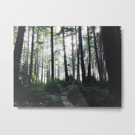Hikes to the Beach Metal Print
