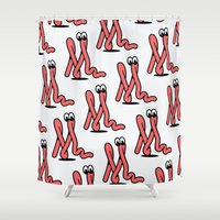 monkey Shower Curtains featuring Monkey by Mick Bailey