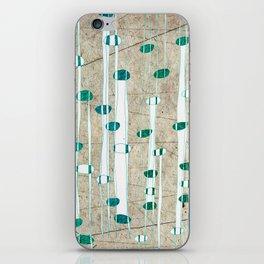 Birch Grass iPhone Skin