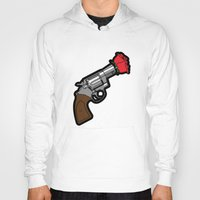 banksy Hoodies featuring Pop Icon - Banksy by Greg Guillemin