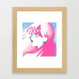 Jet Girl Framed Art Print