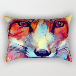 Fox Watercolor 2 Rectangular Pillow
