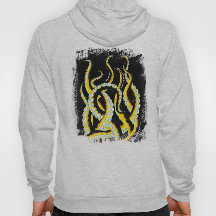 Tentacles From The Murky Waters Ink Art Hoody