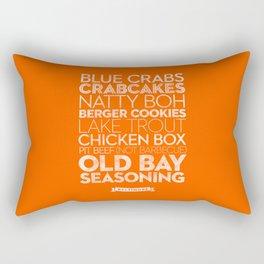 Baltimore — Delicious City Prints Rectangular Pillow