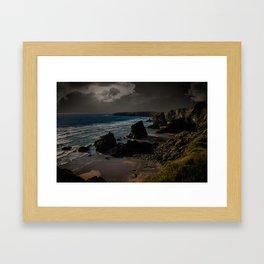 Bedruthan Cornwall UK Framed Art Print