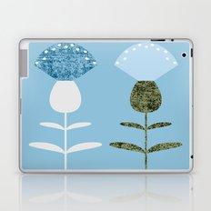 MCM Basket Flower Blue Laptop & iPad Skin