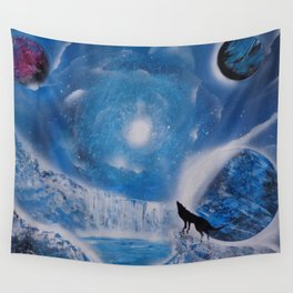 A (Frozen) Night To Remember Wall Tapestry