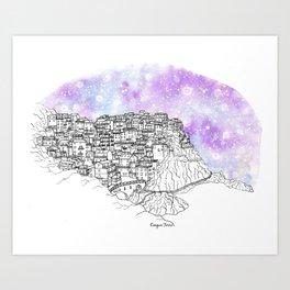 Splash | Cinque Terre Art Print