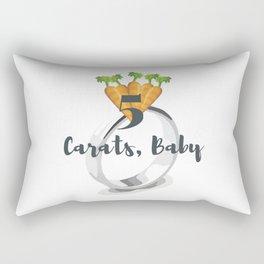 5 Carats, Baby Rectangular Pillow