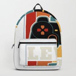 15th Birthday Level 15 Unlocked - Gamer Gamer Gift graphic Backpack