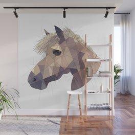 Geometric Horse Wall Mural