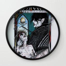 Rozzferatu - Fanart for Rozz Williams Wall Clock