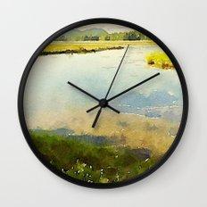 Mount Desert Island Wall Clock