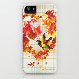 A Grateful Heart iPhone Case