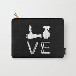 Hairdresser, hairstylist, scissors Carry-All Pouch