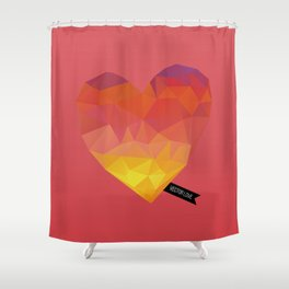 Vector Love 04 Shower Curtain