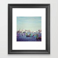 Baltimore Inner Harbor Framed Art Print