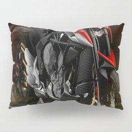 Road Trip Motorcycle Pillow Sham
