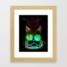 Thomas O'malley the Alley Cat Framed Art Print